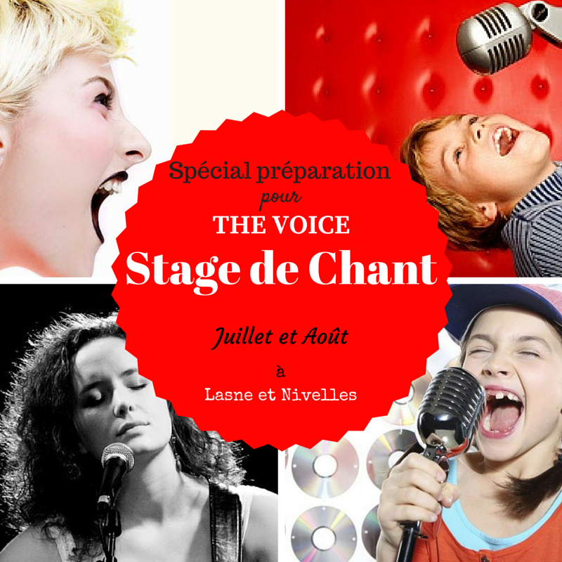 Stage de chant - Special The voice